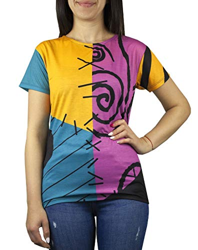 Nightmare before Christmas Sally Women's Costume T-Shirt
