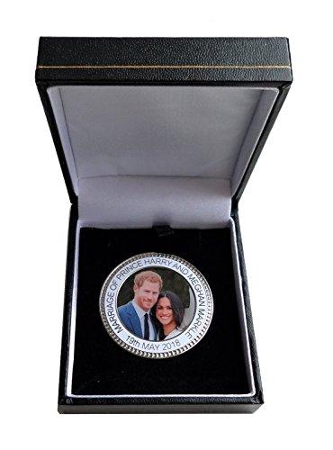 1000 Flags Prinz Harry Meghan markle T-Gedenkmünzen Münze–Medaille–im Karton
