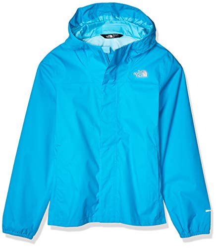The North Face Girls' Resolve Reflective Jacket, Acoustic Blue, M