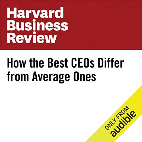 How the Best CEOs Differ from Average Ones copertina