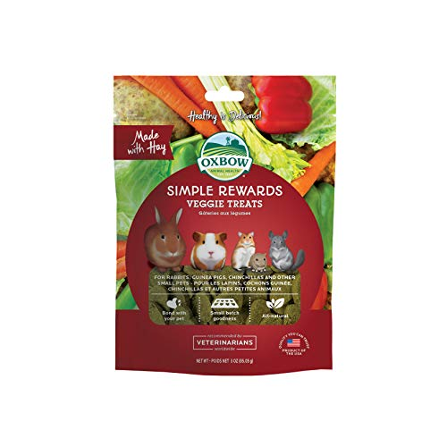 Oxbow Animal Health Simple Rewards Veggie Treat For Pets,...