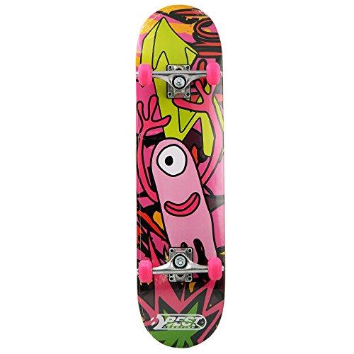 Best Sporting Skateboard, ABEC 3, max. belasting: 100 kg.
