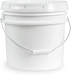 Food Grade 3.5 Gallon Bucket - 3 Pack With Lids