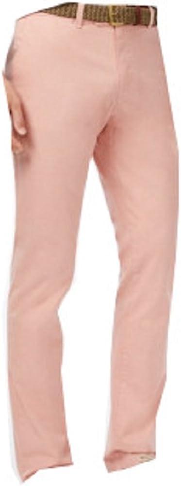 Tommy Hilfiger Men's Drexler Slim-Fit Twill Pants, Dusty Pink, 32x32