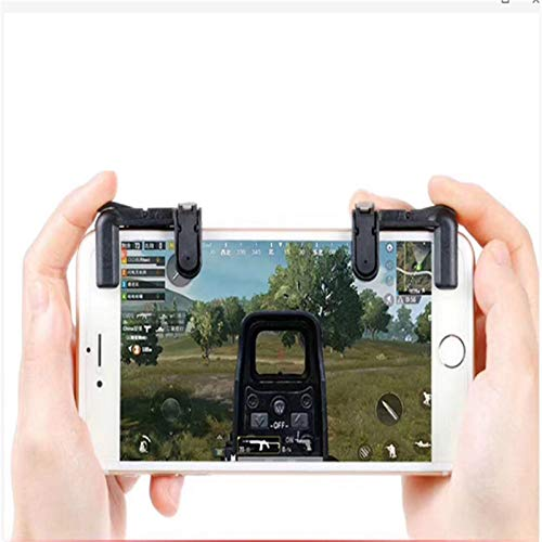 DEALBUHK Mobile Controller Gamepad-Shooting-Button L1 R1 Trigger PUBG Mobiltelefon Gamepad Joystick, geeignet for iPhone Android-Telefone Keine Verzögerung