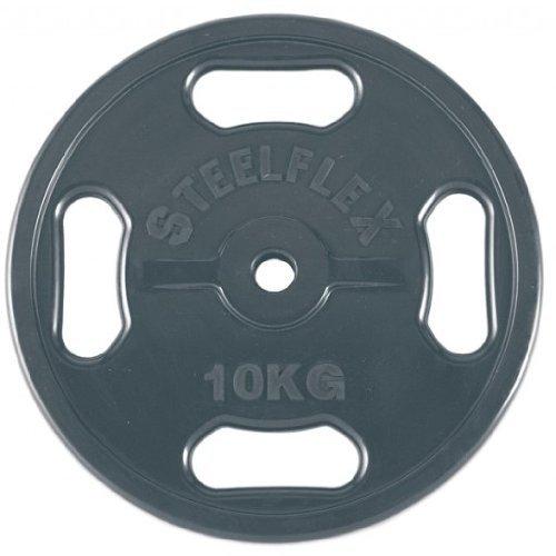 エバニュー 28φラバープレート10kg(2枚1組) ETB118