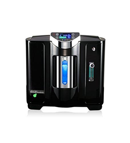 Concentrador de oxígeno BJL Concentrador de oxígeno - Concentrador de oxígeno médico Generador de oxígeno portátil Atomización Salida 1-5L / Min. Purificador de aire en el hogar Monitoreo en tiempo re