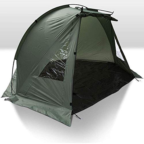 Carp Fishing 1 Man Bivvy Day Session Tent Or Beach Shelter With Pegs and...