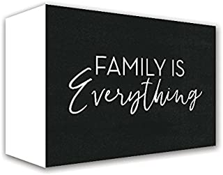 ReLive Decorative Expressions Family is Everything 5x10 Painted Wooden Box Signs