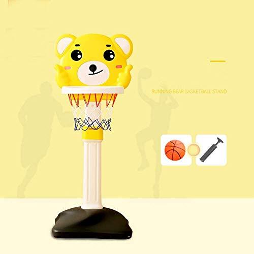 DXQDXQ Baloncesto Caricatura León Canasta Baloncesto Infantil Altura Ajustable Tablero Infantil Baloncesto Juego Al Aire Libre y Interior Jardín Aro Conjunto (Color : B)