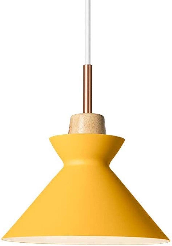 LMDH Nordic Macaron Einzigen Kopf Kronleuchter Kreative Persnlichkeit Schmiedeeisen Kronleuchter Restaurant Bar Café Wohnzimmer Dekoration Lampe (Farbe   Gelb)