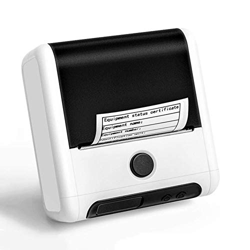 ZHLZH Mini Printer, Pocket Printer, Label Printer Support Android & IOS System Smartphone Connection