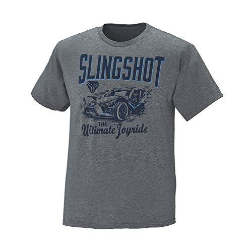 Polaris Slingshot Men's Short-Sleeve Ultimate T-Shirt, Gray - M
