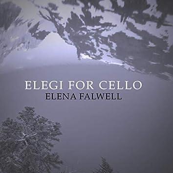 Elegi For Cello