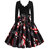 ELECTRI Robe Pull Femme Chic Casual Mode Vintage A Manche Longues Col Haut Ultra Sexy Pull Dress Automne Hiver