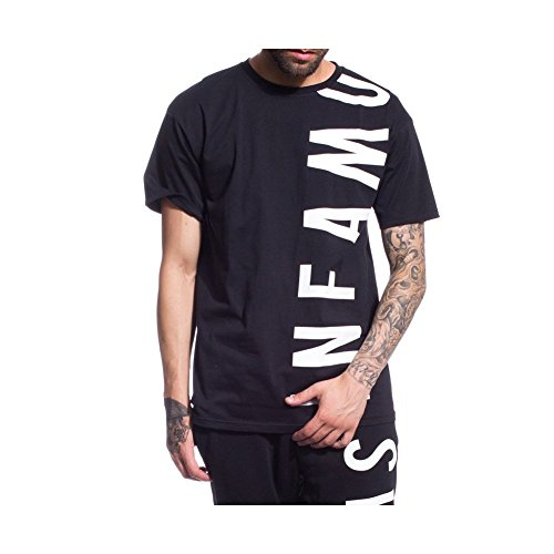 GRIMEY Camiseta Infamous Heritage tee FW17 Black-S