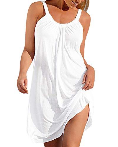 Vestidos Tirantes Mujer Cortos Tunica Playa Talla Grande