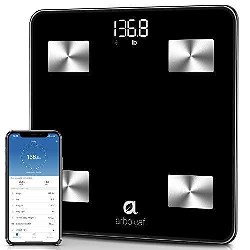 Arboleaf Digital Scale, Bluetooth Smart Scale Scales for Body Weight ,...