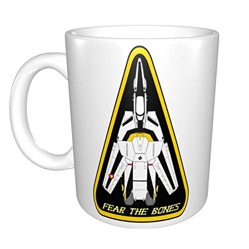 Macross Robotech Roy Focker Unique Funny Ceramic Coffee Mug Home Office Coffee Tea Cup For Novelty Festival Gift