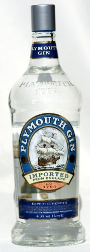 Plymouth 47,3 {0a270e8db6cfd8c226bdf2089071193be24789a6932d270573ae5f294ac777dc} GIN 1,0 Liter oldest Bottle