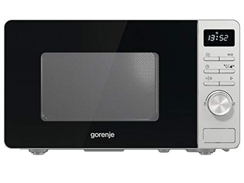 Gorenje MO 20 A3X Mikrowelle/ ChildLock/ AquaClean/ TouchControl/ SmartDisplay/Auftaufunktion/ 11 Automatikprogramme/ 5 Leistungsstufen/ 20l/ 800 W/ Edelstahl