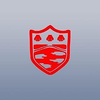 MACBOOK BIKE CAR DECOR ADHESIVE VINYL WALL WINDOW WALL ART AUTO DECAL CAR HOME DECOR ART LAPTOP RED DECORATION DIE CUT MUKURO SYMBOL KATEKYO HITMAN REBORN
