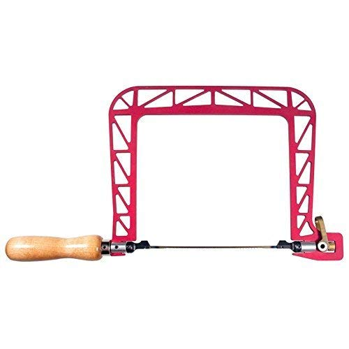 Knew Concepts 6 1/2 Inch Woodworker's Aluminum COPING Saw