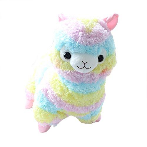 Botetrade Regenbogen Netter Alpaka-Lama-Plüsch Spielzeug