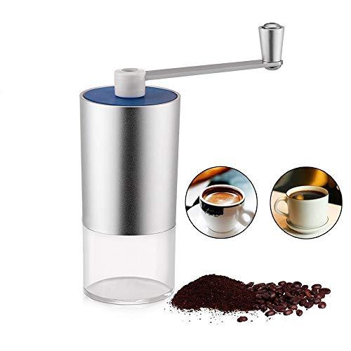 Roestvrij staal Handmatige Koffiebonen Grinder Koffiemachine Compact Draagbare Mini Gewassen Huishoudelijke Hand Grinder