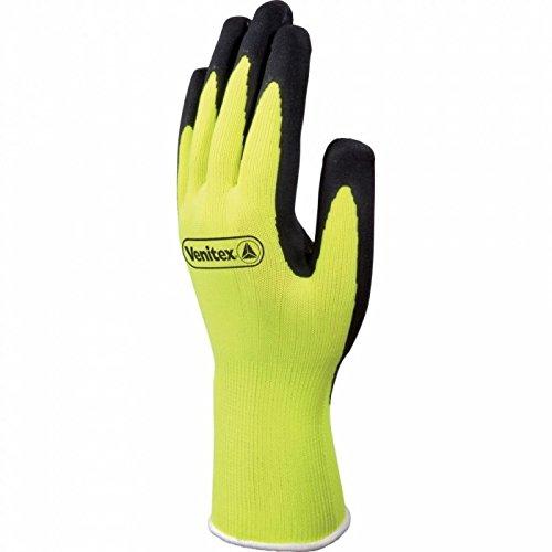 Venitex Apollon PPE Atmungsaktive Hi-Vis Handschuhe (Größe 10) (Gelb/Schwarz)