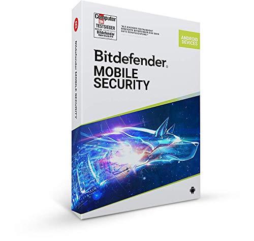 Bitdefender Mobile Security 2021 für Android - 1 Gerät | 1 Jahr Abonnement | Aktivierungscode per Post