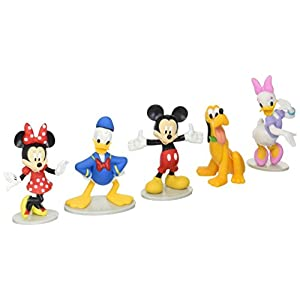 Disney Just Play Juego Mickey Mouse de colección (Mickey, Minnie, Margarita, Donald, y Pluto) 4