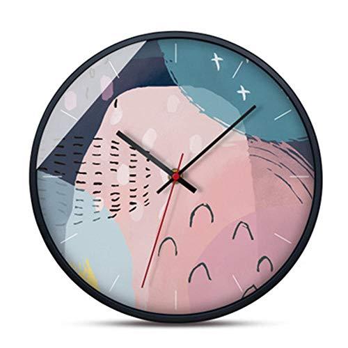 aimeishi Fuente De Alimentación De Batería De Reloj De Pared Brillante Decorativo Espejo Grande Creativo Sala De Estar Europea Reloj De Arte Casero @ B