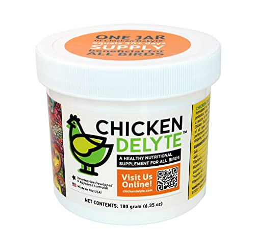 Chicken DeLyte All-in-One Natural Daily Nutritional Supplement for Chickens & Poultry