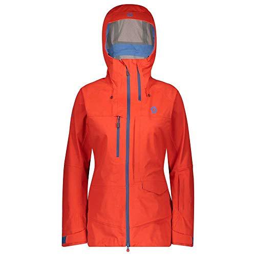 SCOTT Vertic 3L Veste de Ski pour Femme S Orange Grenadine