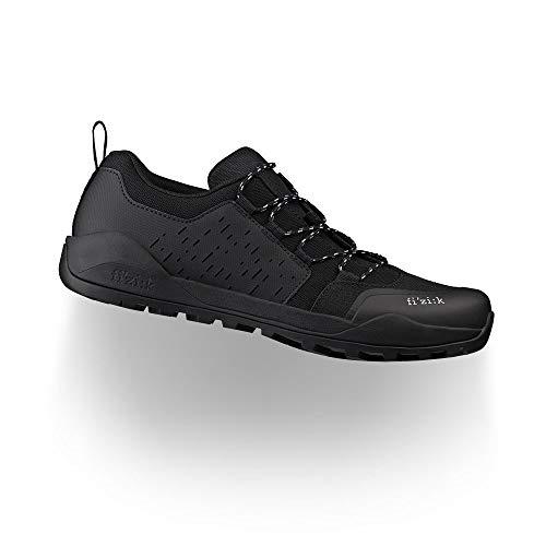 Fizik Terra Ergolace X2, Zapatillas de Ciclista Unisex Adulto, Negro, 42