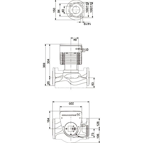 Grundfos Magna3 40-80 F 97924647