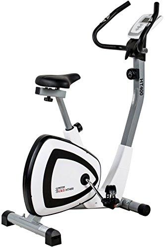 Motivos Adultos HT 400–Bicicleta estática, Color Blanco y Negro, M