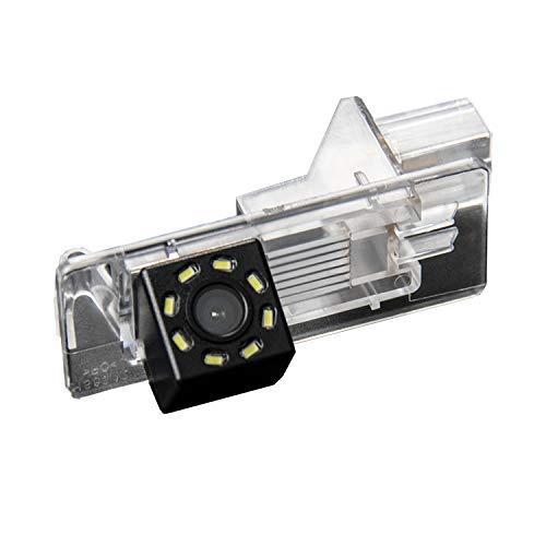 Telecamera Posteriore per Luce Targa Specifica Linea Guida Effetto Specchio Selezionabile per Renault Fluence/Duster Megane/Latitude/Scenic 2/ Laguna 2/3 X91 Clio 4