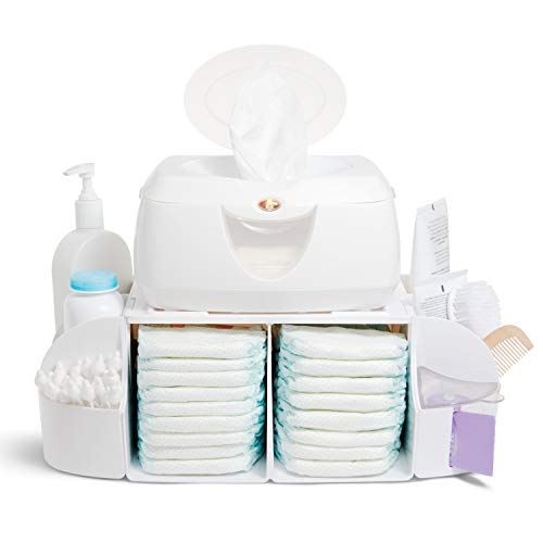 Munchkin Diaper Duty Organizer, White, Colors May Vary