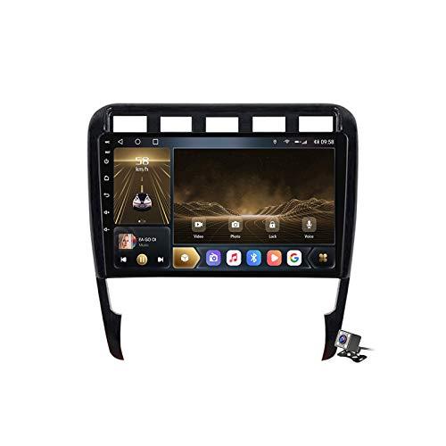 Buladala Android 10 Auto Audio Stereo GPS Navigatore con 9 Pollici Touch Screen per Porsche Cayenne 2002-2010, Supporto FM RDS DSP Radio/Bluetooth Steering Wheel Control/Carplay,M300