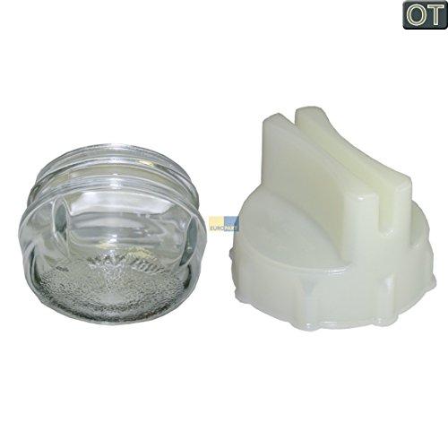 Lampenabdeckung, Lampenkalotte Ø 68mm Glas passend für Bosch Siemens Neff 647309 / Küppersbusch 502376