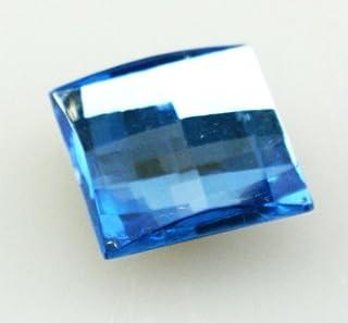 Crocs Gem Square Med - Zoccoli Ornamentali, Unisex, per Bambini, Multicolore (Blu), Taglia Unica