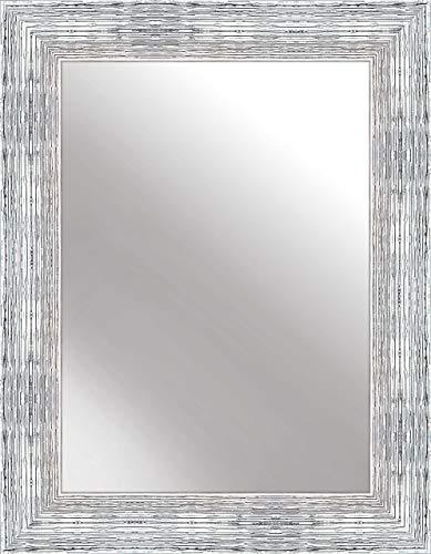 Nielsen Home Wandspiegel Chiara, Silber Weiß, ca. 50x70 cm