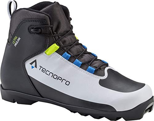 Tecnopro Herren Ultra Prolink Traillaufschuhe, White Black Blue Royal, 40 EU