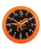 Kiddus Ki50115 Dino DE Orologio Pedagogico per Bambine e Bambini, Analogico, Impara l'orario con il nostro semplice sistema Time Teacher, esercizi inclusi