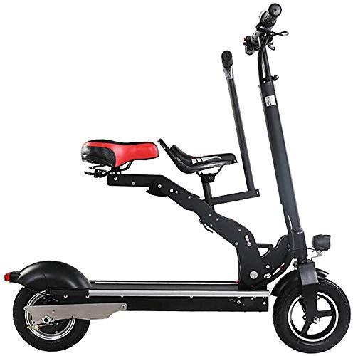 TONGS Elektryczny rower dla dorosłych, przenośny mini-składak, na baterie, przyjazny dla środowiska, czarny