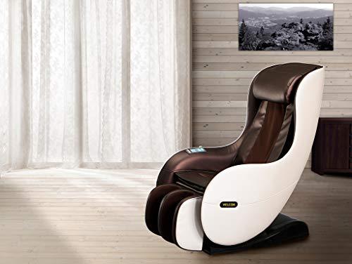 Massagesessel WELCON EASYRELAXX in beige braun mit Wärmefunktion...