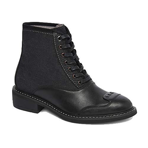 G-STAR RAW Damen Lace Up Guardien Cow Leather Denim Schnürboots Boots Stiefeletten Schuhgröße EUR 38