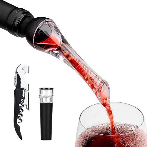 Mafiti Decantador Aireador de Vino Profesional. Elegante y práctico p